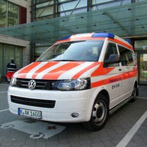 Krankenwagen für Krankentransport in Köln